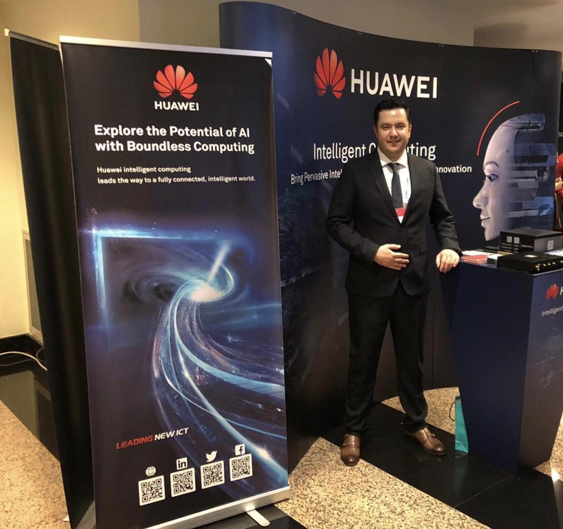 HUAWEI Türkiye Sunucu İş Birimi Hosting Talk Global 2019'da Yapay Zeka Çözümlerini Tanıttı