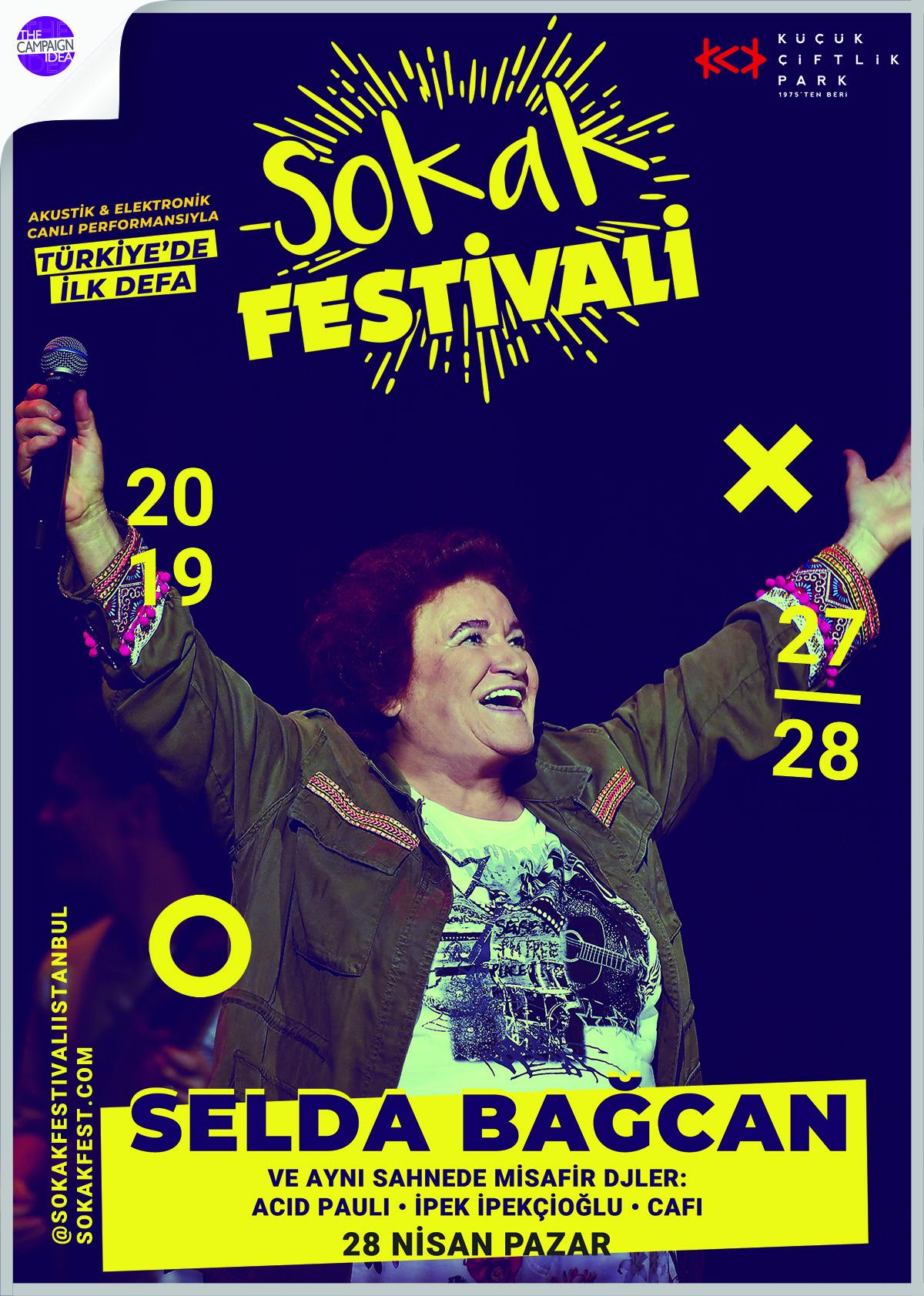 Selda BağcanSokak Festivali'ne Damgasını Vurdu